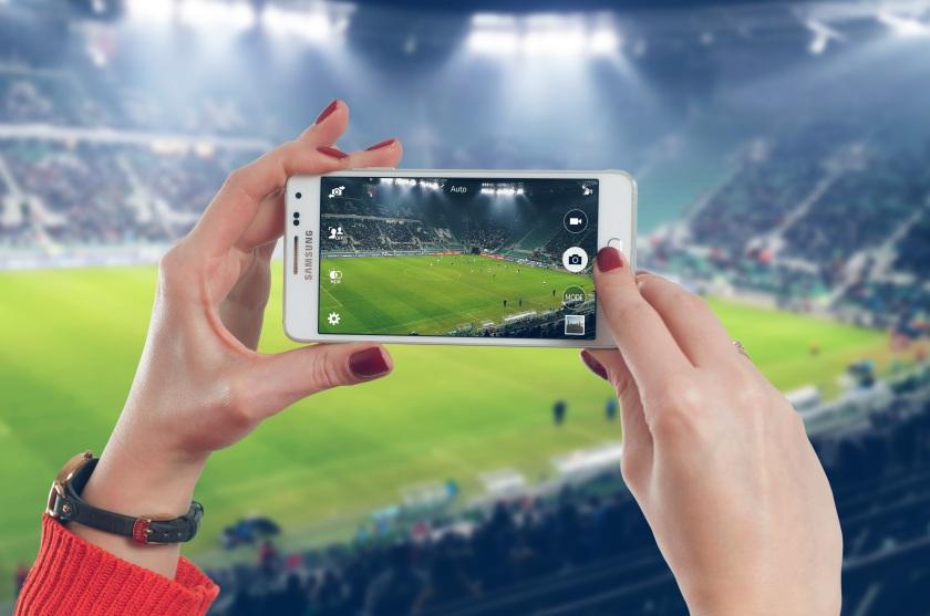 football cellphone