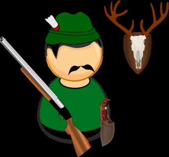 Trophy antlers